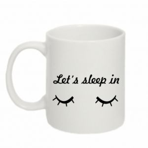 Mug 330ml Let's sleep in