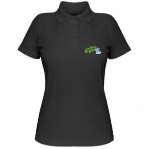 Women's Polo shirt Spill the tea - PrintSalon