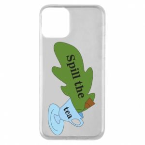 Phone case for iPhone 11 Spill the tea - PrintSalon