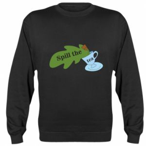 Sweatshirt Spill the tea - PrintSalon