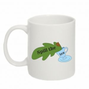 Mug 330ml Spill the tea - PrintSalon
