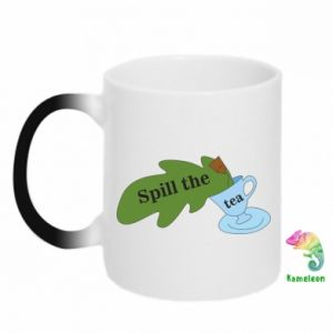 Chameleon mugs Spill the tea - PrintSalon