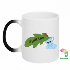 Kubek-kameleon Spill the tea