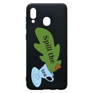 Phone case for Samsung A30 Spill the tea - PrintSalon