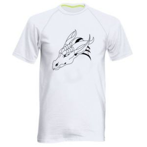 Koszulka sportowa męska Spokojny wielki smok