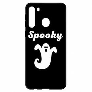 Etui na Samsung A21 Spooky