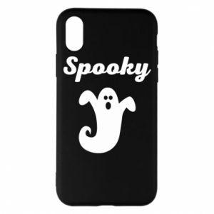 Phone case for iPhone X/Xs Spooky - PrintSalon