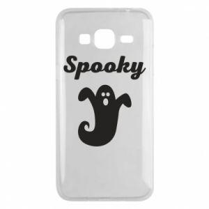Phone case for Samsung J3 2016 Spooky - PrintSalon