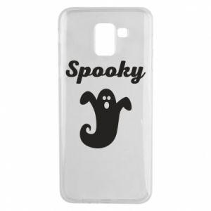 Phone case for Samsung J6 Spooky - PrintSalon