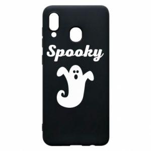 Phone case for Samsung A20 Spooky - PrintSalon