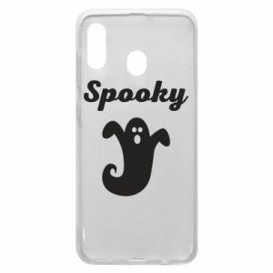 Etui na Samsung A30 Spooky