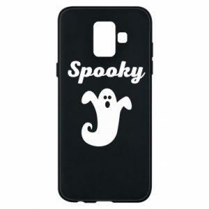 Phone case for Samsung A6 2018 Spooky - PrintSalon