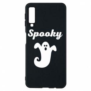 Phone case for Samsung A7 2018 Spooky - PrintSalon