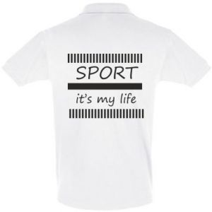 Men's Polo shirt Sport it's my life