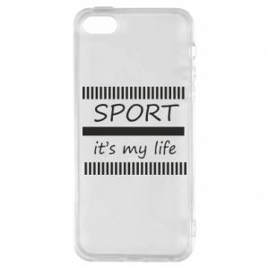 Etui na iPhone 5/5S/SE Sport it's my life