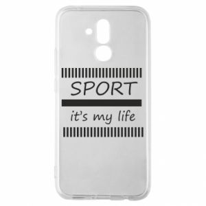 Etui na Huawei Mate 20 Lite Sport it's my life