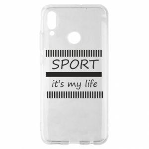 Etui na Huawei P Smart 2019 Sport it's my life