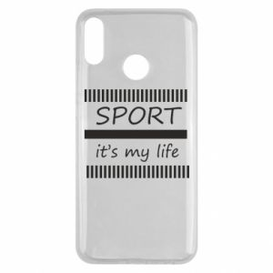 Etui na Huawei Y9 2019 Sport it's my life
