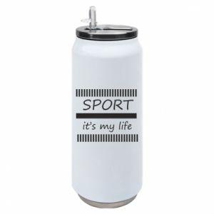 Puszka termiczna Sport it's my life
