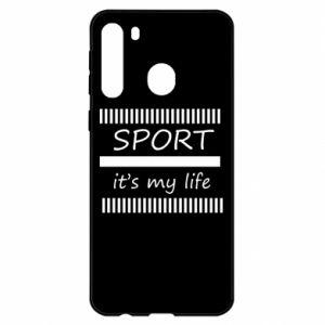 Etui na Samsung A21 Sport it's my life