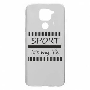 Etui na Xiaomi Redmi Note 9/Redmi 10X Sport it's my life
