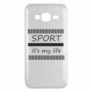Etui na Samsung J3 2016 Sport it's my life
