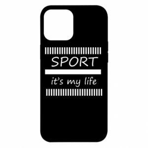 Etui na iPhone 12 Pro Max Sport it's my life