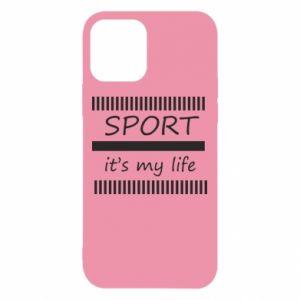 Etui na iPhone 12/12 Pro Sport it's my life