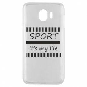 Etui na Samsung J4 Sport it's my life
