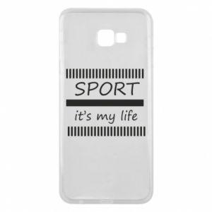 Etui na Samsung J4 Plus 2018 Sport it's my life
