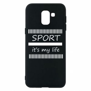 Etui na Samsung J6 Sport it's my life
