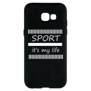 Etui na Samsung A5 2017 Sport it's my life