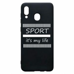 Etui na Samsung A20 Sport it's my life