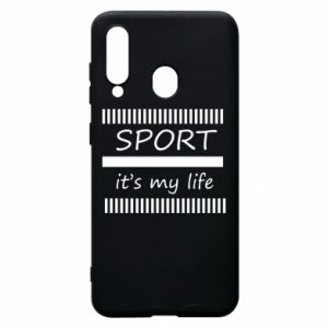 Etui na Samsung A60 Sport it's my life