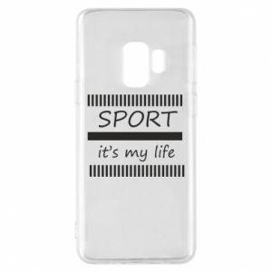 Etui na Samsung S9 Sport it's my life