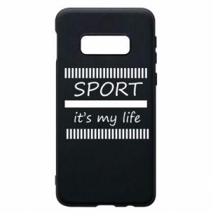 Etui na Samsung S10e Sport it's my life