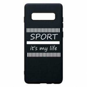 Etui na Samsung S10+ Sport it's my life