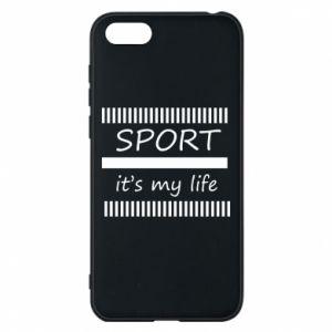 Etui na Huawei Y5 2018 Sport it's my life
