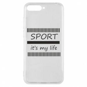 Etui na Huawei Y6 2018 Sport it's my life