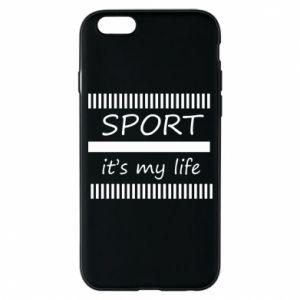 Etui na iPhone 6/6S Sport it's my life