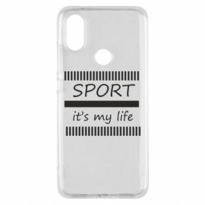 Etui na Xiaomi Mi A2 Sport it's my life