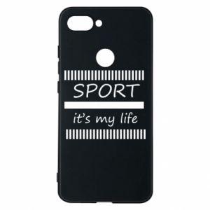 Etui na Xiaomi Mi8 Lite Sport it's my life