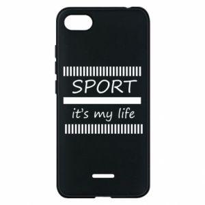 Etui na Xiaomi Redmi 6A Sport it's my life