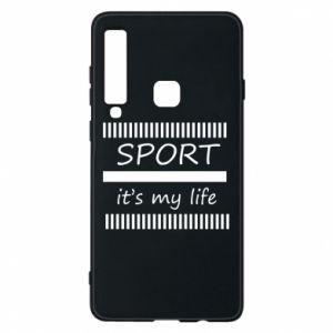 Etui na Samsung A9 2018 Sport it's my life