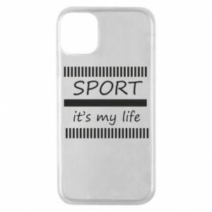 Etui na iPhone 11 Pro Sport it's my life