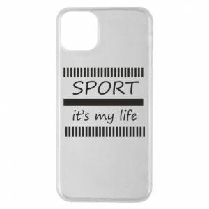 Etui na iPhone 11 Pro Max Sport it's my life