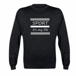 Bluza dziecięca Sport it's my life