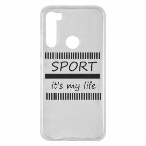 Etui na Xiaomi Redmi Note 8 Sport it's my life