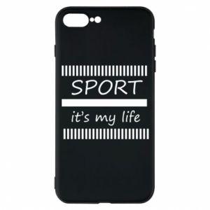 Etui do iPhone 7 Plus Sport it's my life