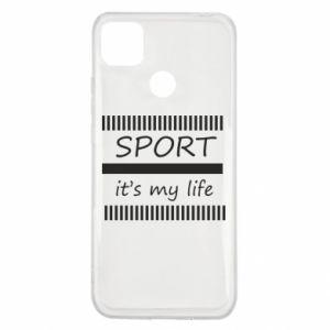 Etui na Xiaomi Redmi 9c Sport it's my life